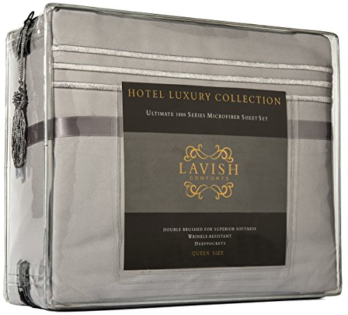 Hotel Collection Platinum: HOTEL LUXURY SHEET SET 1800 Series Double Brushed