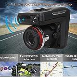 Nacome Car Recorder,2in1 Radar Recorder HD 1080P Car DVR Detector Camera Video Recorder Dash Cam Radar