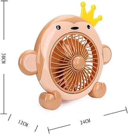 Ventilador de escritorio para niños Ventilador de dibujos animados ...