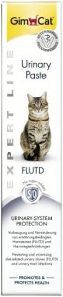 Gimcat Urinary Pasta para Gatos, Malta Infecciones Tracto Urinario, Cálculos Urinarios, Estruvita, Oxalato de Calcio - Tubo 50 gr.: Amazon.es: Productos para mascotas