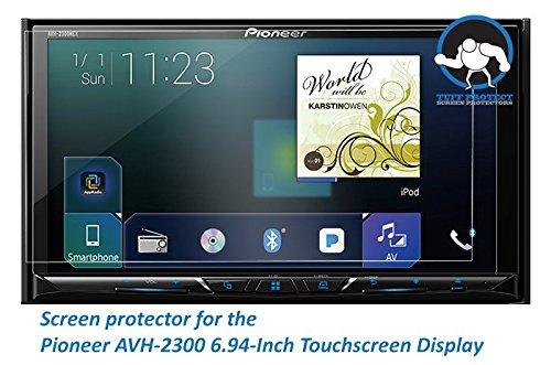 Tuff Protect Anti-Glare Screen Protectors for Pioneer AVH-2300nex Car Indash DVD Receiver