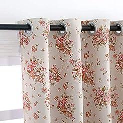 Farmhouse Living Room Curtains