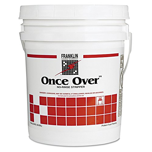 (FRKF200026 Once Over Floor Stripper, Mint Scent, Liquid, 5 gal. Pail)