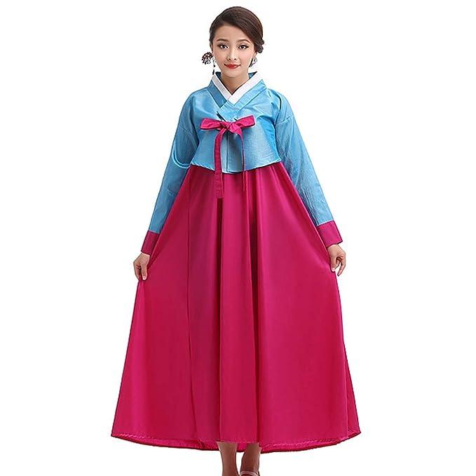 74abdf2ce XFentech Ladies Coreano Trajes Tradicionales Hanbok Vestido - Ladies Manga  Larga Vestido Princesa Antiguo Disfraz  Amazon.es  Ropa y accesorios