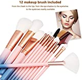 Makeup Brush Sets - 12 Pcs Makeup Brushes for