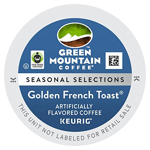 Green Mountain Narrow Edition Golden French Toast K Cups 24 Count