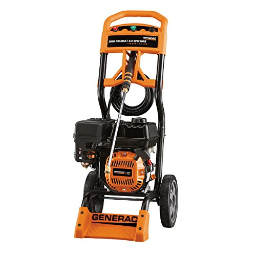 Generac 6595 2,500 PSI 2 3 GPM 196cc OHV Gas Powered Residential Pressure  Washer (Discontinued by Manufacturer)