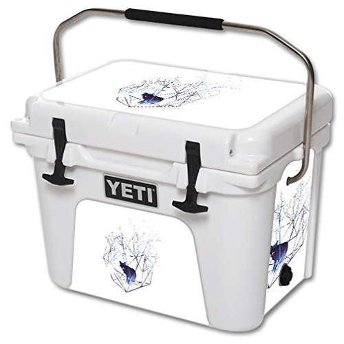 MightySkins Skin For YETI 20 qt Cooler - Organic Prison | Protective, Durable, and Unique Vinyl Decal wrap cover | Easy To Apply, Remove, and Change Styles | Made in the USA by MightySkins