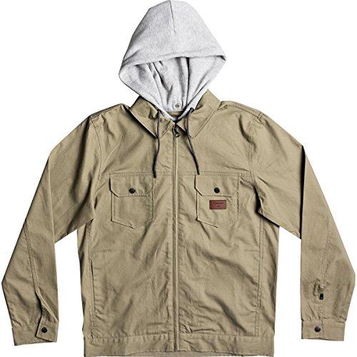 Quiksilver Men's Tionaga Bomber Insulated Jacket, Elmwood, XXL from Quiksilver