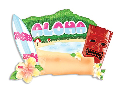 PERSONALIZED CHRISTMAS ORNAMENTS TRAVEL-HAWAII