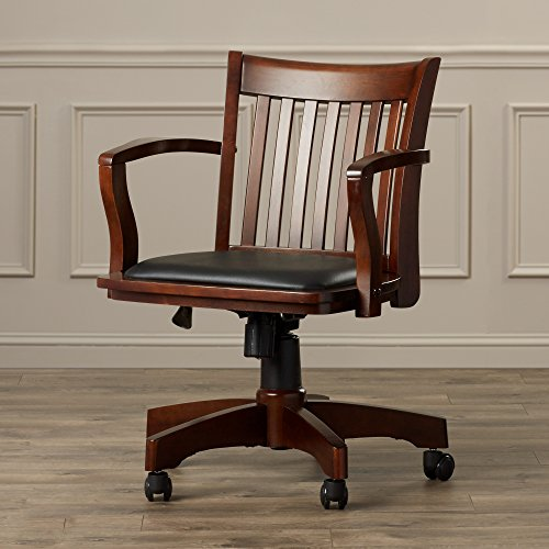 wood bankers chair - 4