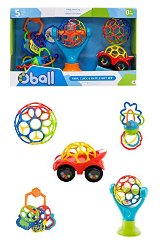 Oball - GRIP, CLICK & RATTLE Gift Set