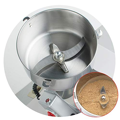 Stainless Steel Electric Herbal Medicine Grinder 1000g Portable Household Chinese Medicial Grains Spice Powder Milling Machine Kitchen for Mom, Wife by Fencia (Image #7)
