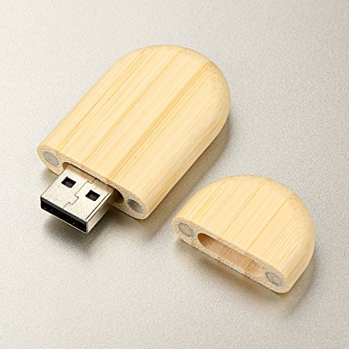 Euone  U DiskClearance Sale Wooden USB 2.0 2GB Flash Drive Drives Wood U Disk ()