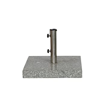 Siena Garden 431526 Granit Pour Mats De Parasol Gris 25 X 48 Mm