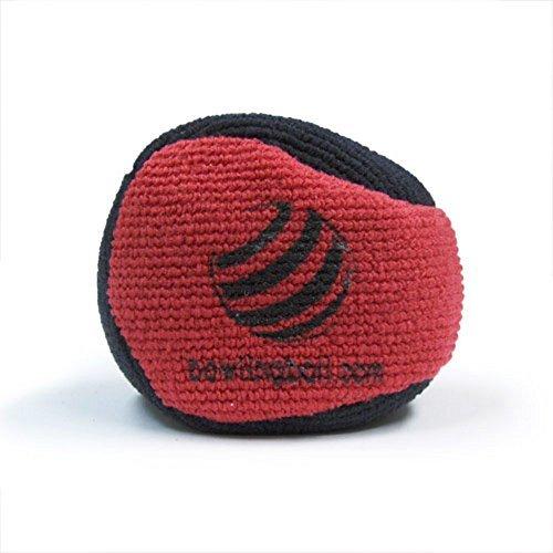bowlingball.com Microfiber Ultra Dry Bowling Grip Ball (Black/Red)