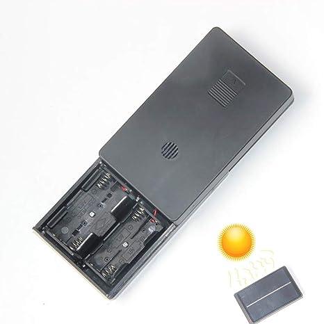 HJJH Cargador de batería Caja de Carga, Panel de Panel Solar ...