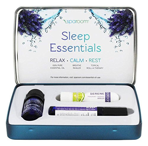 Sparoom Sleep Essentials Oil Travel Pack With Accessory Tin, Aromatherapy, 0.25 Pound by SpaRoom (Image #3)
