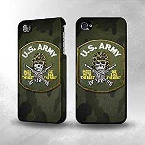 Apple iPhone 4 / 4S Case - The Best 3D Full Wrap iPhone Case - US Army