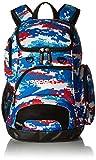 Speedo Teamster Backpack, Red/White/Blue, Medium/25 L