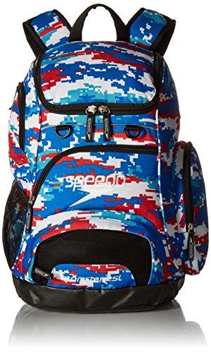 Speedo Teamster Backpack, Red/White/Blue, Medium/25 - Gear 2017 Triathlon