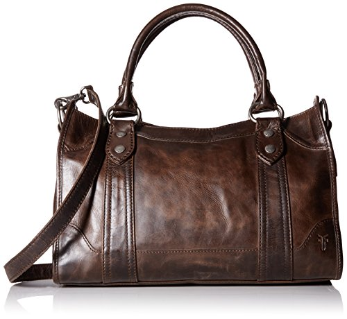 FRYE Melissa Satchel Handbag,Slate,One Size by FRYE