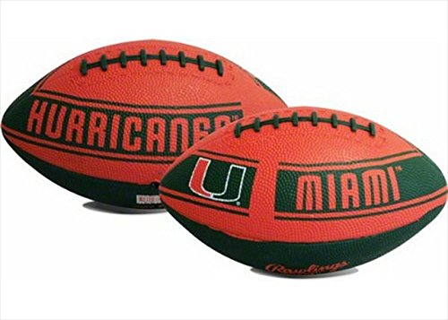 Licensed Products Hail Mary Football Miami Hurricanes