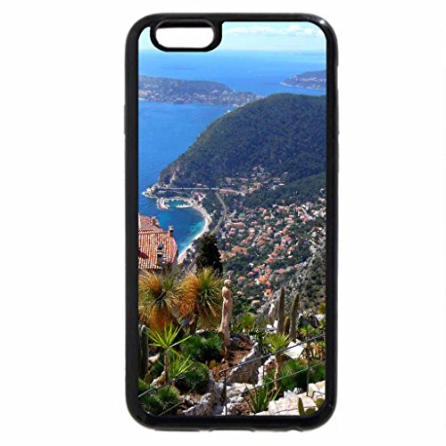 iPhone 6S / iPhone 6 Case (Black) fabulous mountain view of seaside town
