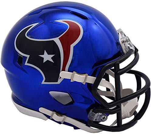 Riddell Houston Texans Chrome Alternate Speed Mini Football