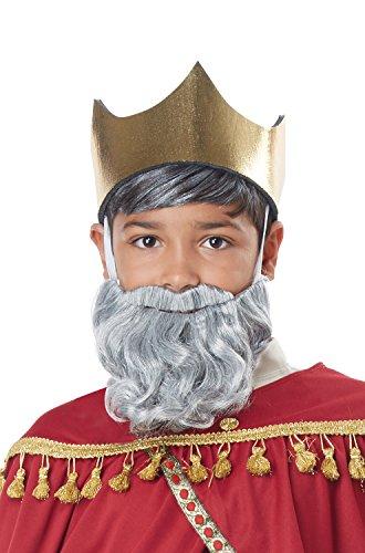 (Wise Man Gray Beard and Mustache -)