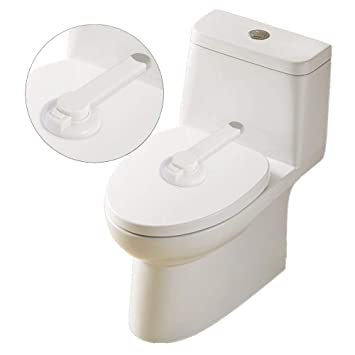 Groovy Baby Safety Toilet Locks Baby Proof Toilet Lid Lock With Arm Alphanode Cool Chair Designs And Ideas Alphanodeonline