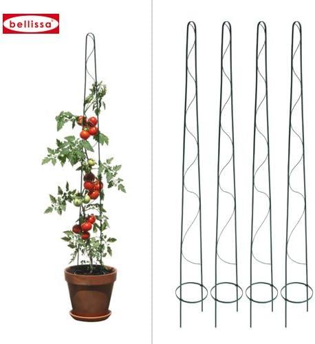 bellissa Tomaten-Tom 10007 - Set de 4 tutores para tomateras (160 ...