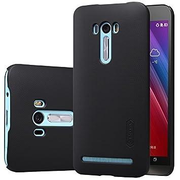 ELTD Asus ZenFone 2 Selfie ZD551KL Funda, Slim Matte Series funda carcasa case para Asus ZenFone 2 Selfie ZD551KL + 1 protector pantalla, Negro