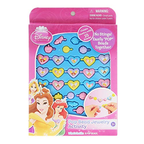 UPD Disney Princess Pop Beads Jewelry 25ct Pack ()