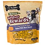 Three Dog Bakery Roll-Over Rewards Cheese Dog Treats, 32-Ounce, My Pet Supplies