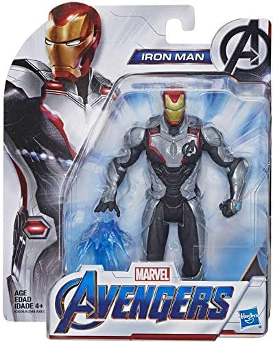Amazon Com Collector Avengers Endgame Iron Man Team Suit Action Figure With Accressory Approx 6 Home Kitchen