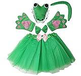 Kirei Sui Kids Costume Tutu Set Crocodile