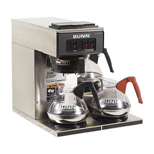 Old School Spanish Coffee Maker : BUNN VP17-3SS3L Pourover Commercial Coffee Brewer