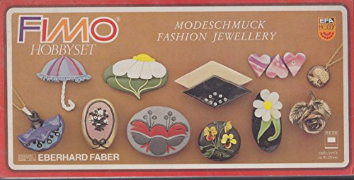 Fimo Hobby Set Jewelry Eberhard Faber Made in Germany
