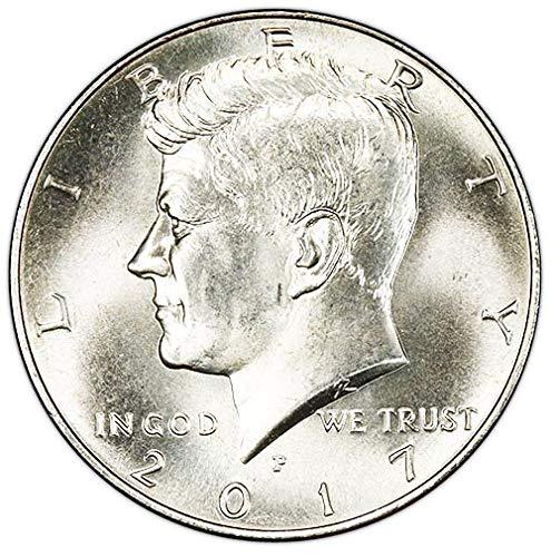 (2017 P BU Kennedy Half Dollar Choice Uncirculated US Mint)