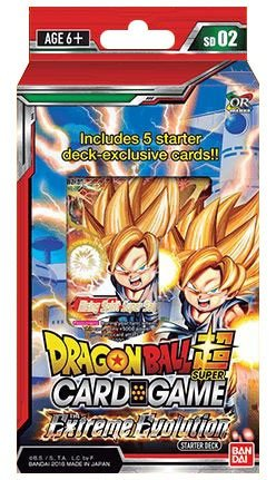 Dragon Ball Super The Extreme Evolution Series 3 Starter Deck (Super Starter)