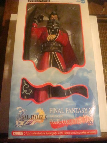 Final Final Final Fantasy X Auron 1/6 Scale Polystone Model Figure No:4 by ARTFX Colllectible Toys 5c1ce8