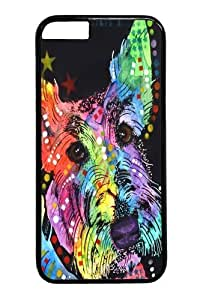 For Case Iphone 6Plus 5.5inch Cover, For Case Iphone 6Plus 5.5inch Covers -scottish terrier PC Hard Plastic For Case Iphone 6Plus 5.5inch Cover Black
