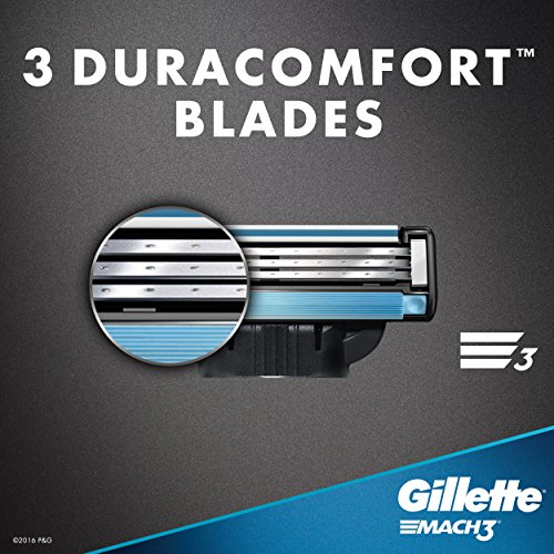 Gillette Mach3 Men's Razor Blades, 8 Blade Refills (Packaging May Vary) by Gillette (Image #7)