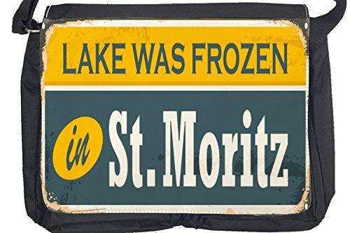 Borsa Tracolla Viaggi Cucina St. Moritz Stampato