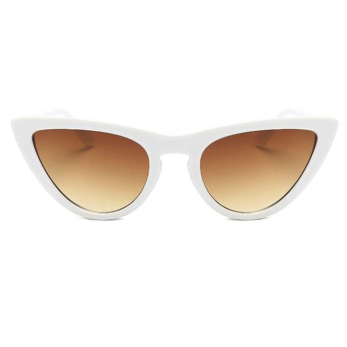 Sonnenbrille Damen Brille Katzenaugen Retro Vintage Cateye Viele Farben yozcmz