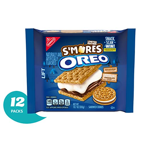 Oreo S'more Cookies, Limited Edition, Twelve, 10.7 Ounces