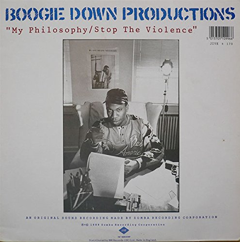 BOOGIE DOWN PRODUCTIONS / MY PHILOSOPHY - Amazon com Music