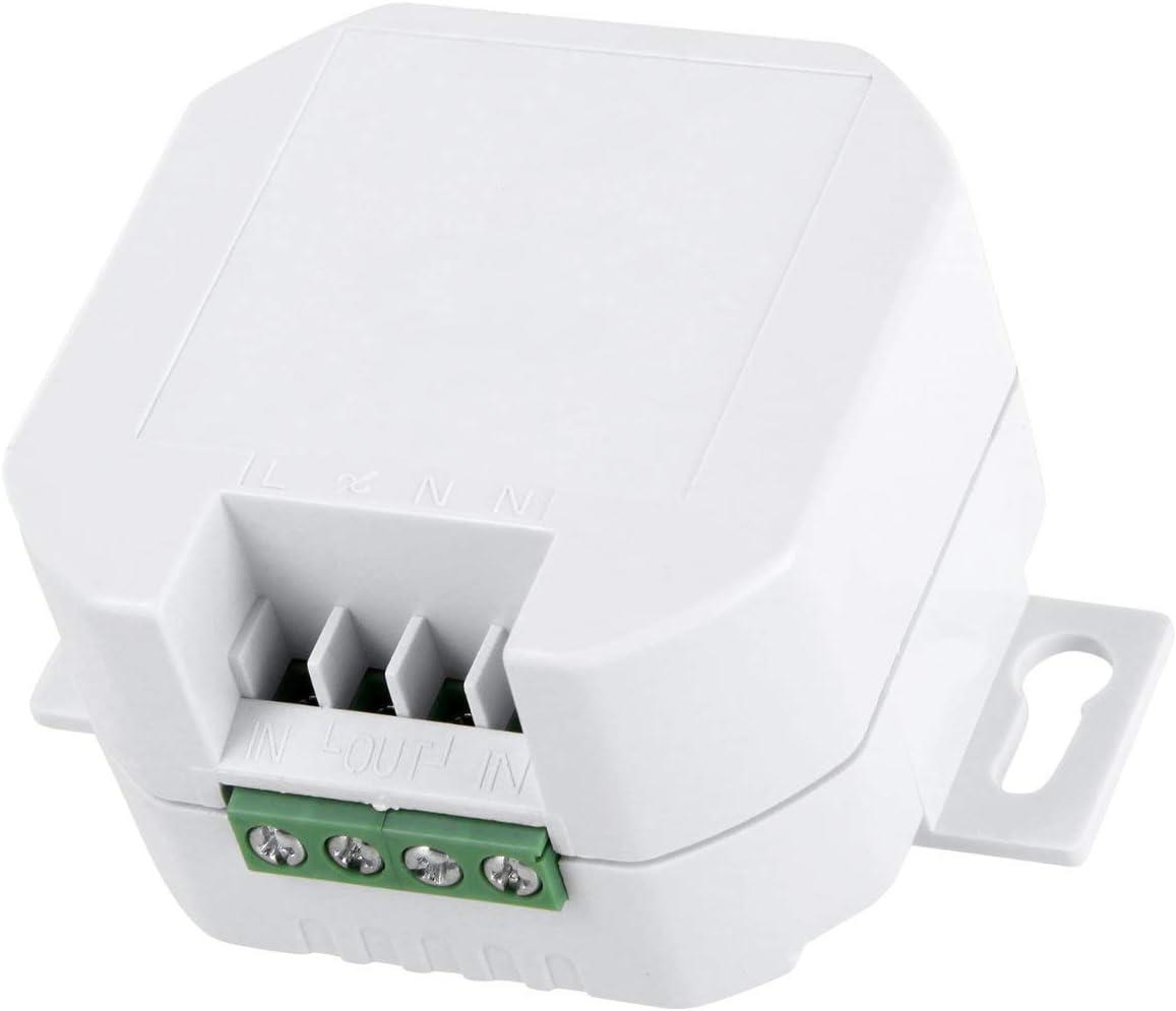 230 V para aparatos el/éctricos y luces LED Sistema de control por radiocomunicaci/ón m/áx.2000 W