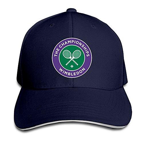 (BOoottty 2016 Wimbledon Tennis Championships Flex Baseball Cap Navy)